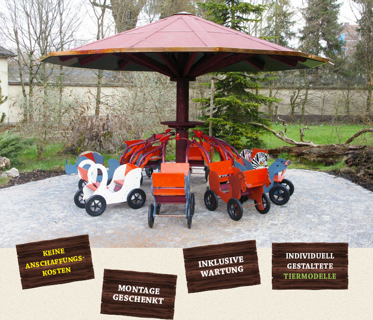 HAWAZUZIE Mietstation mit Zoo Kinderwagen